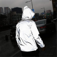 Load image into Gallery viewer, Full Reflective Windbreaker Waterproof  Mens Jacket