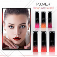 Load image into Gallery viewer, Waterproof Liquid Lip Gloss Metallic  Lipstick Cosmetic