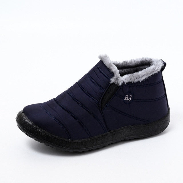 Winter Waterproof Warm  Female  Boots Shoes
