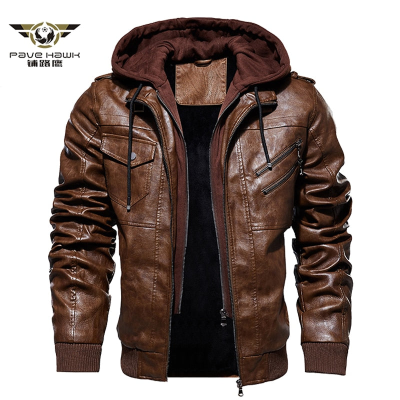 Men's Winter Leather Jackets
