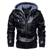Load image into Gallery viewer, Men's Winter Leather Jackets