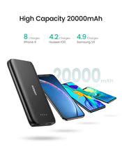 Load image into Gallery viewer, Power Bank 20000mAh Fast Phone Charger  External Battery