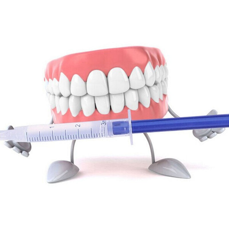 44% Peroxide Dental Bleaching System Teeth Whitener Dental Equipment 10/6/4/3pc with Led lights