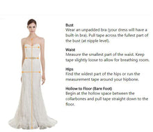 Load image into Gallery viewer, Wedding Dresses Crystal Beading Lace up Back Wedding Gowns Bride Dresses