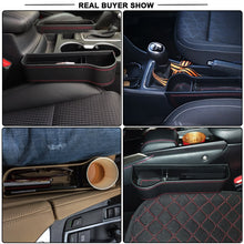Load image into Gallery viewer, Car Seat Crevice Storage Box Seat Gap Slit Pocket