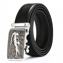 Load image into Gallery viewer, Men Top Quality Genuine Luxury Leather Belts