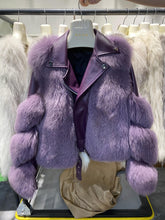 Load image into Gallery viewer, Parka  Luxury  Coats With 100% Genuine Sheepskin Leather for Female