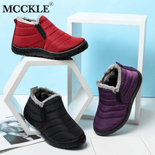 Load image into Gallery viewer, Winter Waterproof Warm  Female  Boots Shoes