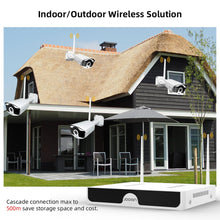 Load image into Gallery viewer, CCTV Camera System Audio Record Outdoor  Wifi IP Security Camera