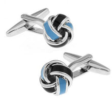 Load image into Gallery viewer, Black Cufflinks for men