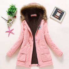 Load image into Gallery viewer, Winter Womens Medium-long thicken plus size 4XL Jacket