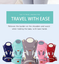 Load image into Gallery viewer, Baby Carrier 0-48M Baby Hipseat Carrier Front Facing Ergonomic