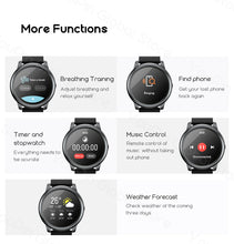 Load image into Gallery viewer, Solar LS05 Smart Watch Sport Metal Heart Rate Sleep Monitor  Waterproof iOS Android