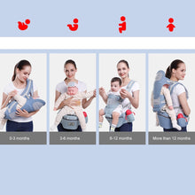 Load image into Gallery viewer, Baby Carrier 15 Using Way Infant Baby Hipseat Carrier Front Facing