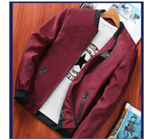 Load image into Gallery viewer, Men's Bomber Zipper Winter Jacket