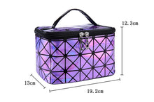 Load image into Gallery viewer, Womens   Multifunctional Cosmetic Leather Travel Make Up  Bag