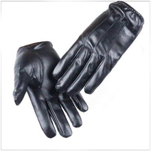 Load image into Gallery viewer, Driving Hot Men's Luxurious PU Leather Winter Autumn Driving Keep Warm Gloves
