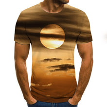 Load image into Gallery viewer, Men Women Fashion Short sleeve funny T-shirts The 3d print