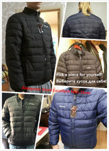 Load image into Gallery viewer, White Duck Down Men's Winter Jacket