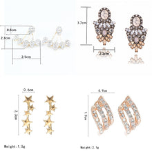 Load image into Gallery viewer, Crystal  Stud Earrings for Women