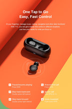 Load image into Gallery viewer, Bluetooth headphones 3D stereo wireless earphones with dual microphone
