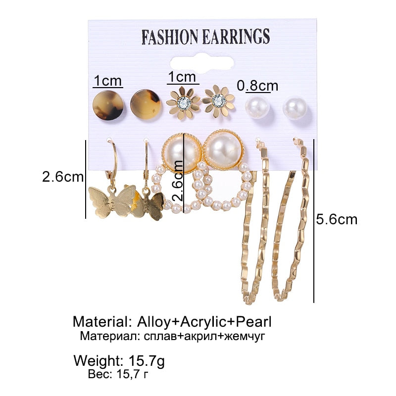 Women's Earrings Set