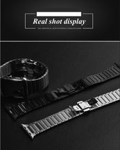 Load image into Gallery viewer, Apple Watch band 44mm 40mm iWatch band 42mm/38mm Butterfly Metal Bracelet Apple watch serie 5 4 3 se 6