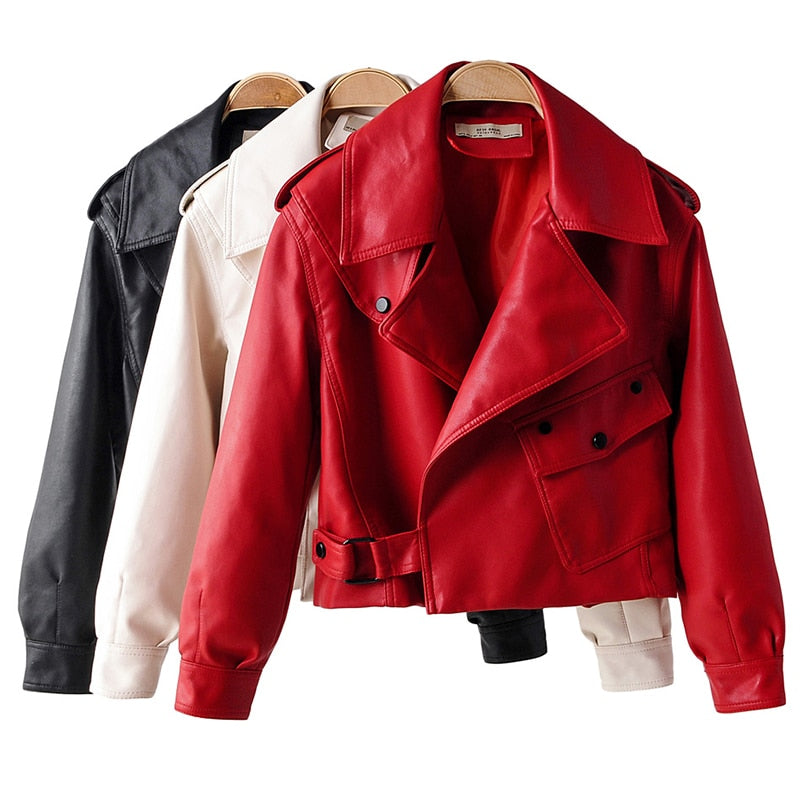 Womens   Leather Jacket for Women