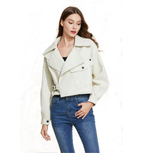 Load image into Gallery viewer, Womens   Leather Jacket for Women