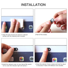 Load image into Gallery viewer, WebCam Cover Shutter Magnet Slider Plastic For iPhone Web Laptop PC