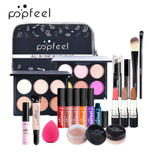 Load image into Gallery viewer, Make Up Sets Cosmetics Kit Eyeshadow Lipstick Eyebrow Pencil Lip