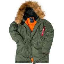 Load image into Gallery viewer, Long Winter puffer jacket for Men