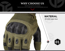 Load image into Gallery viewer, Touch Screen Army Military Tactical Gloves