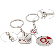 Load image into Gallery viewer, LOVE YOU LetterHeart Key Ring for  Gift