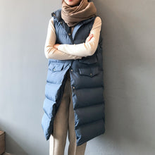 Load image into Gallery viewer, Autumn Winter Cotton  Ladies Casual Waistcoat