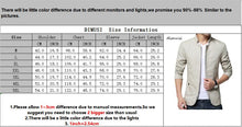 Load image into Gallery viewer, Mens Cotton Slim Windbreaker Jackets