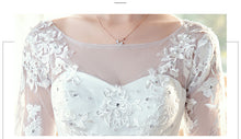Load image into Gallery viewer, Wedding Dress 2020 New Bride Dream Lace Up Wedding Dresses Bride Embroidery Plus Size Dresses