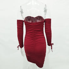 Load image into Gallery viewer, Womens Autumn Winter Bandage Dress