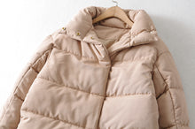 Load image into Gallery viewer, Womens Amy Green Oversize Long Parkas