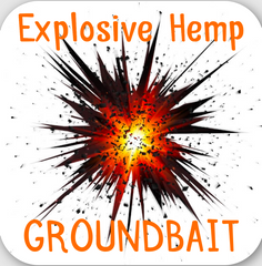 Explosive Hemp Groundbait 1kg