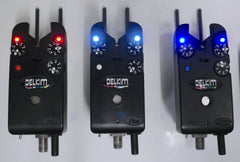 Delkim TXi Plus Bite Alarms X3 + Snag Ears + Receiver