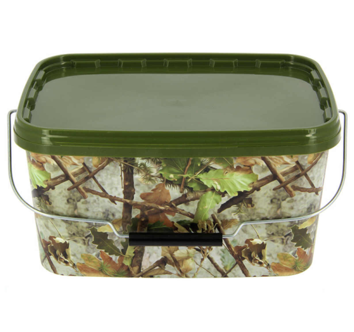Camo Square Bait Bucket