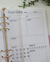 Planner Divider Ruler A5 - Gold detail