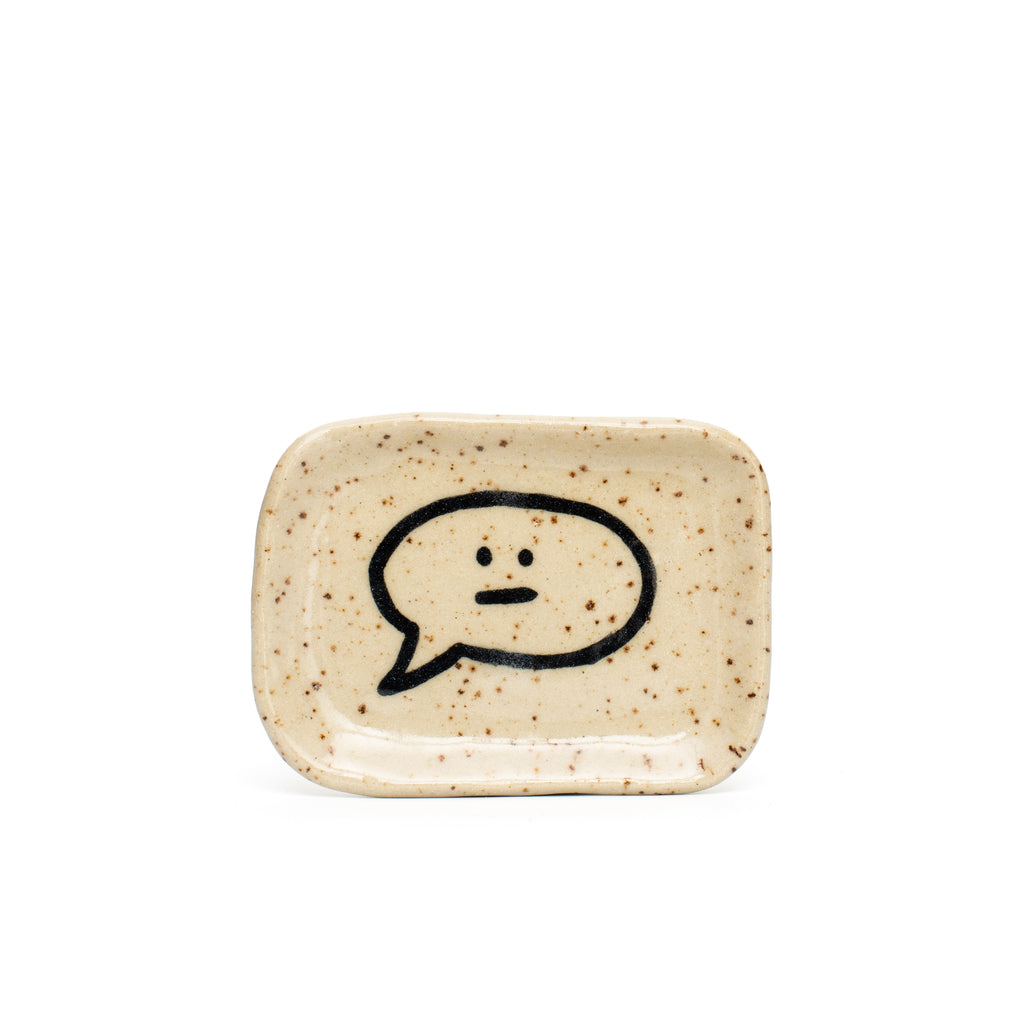Face Speech Bubble Tray
