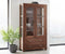 Eternal Elegant Acacia Showcase Cabinet #3