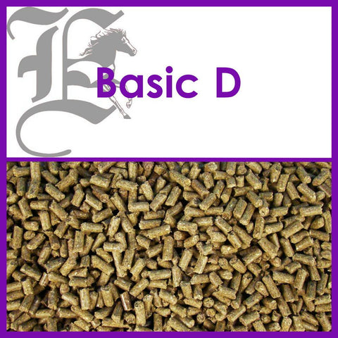 BASIC D  Basis-Pellets 25 KG SACK