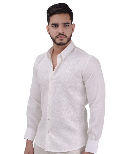 CAMISA NATURAL LUXURY MEN