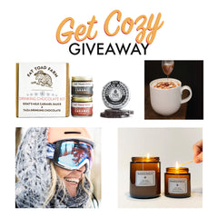Get Cozy Giveaway Bundle from Vermont-based, woman-owned brands WANDERNESS, Fat Toad Farm, and Overeasy