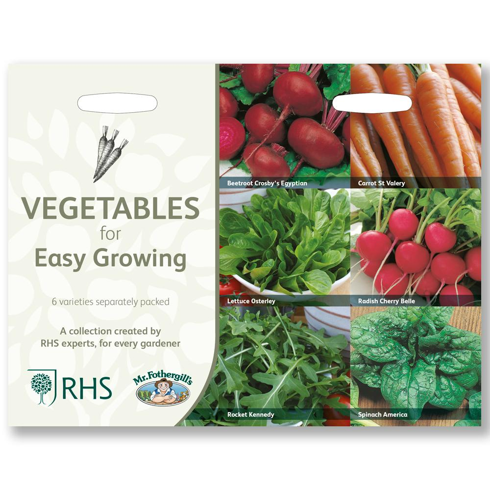 Vegetables for Easy Growing <br>Collection RHS