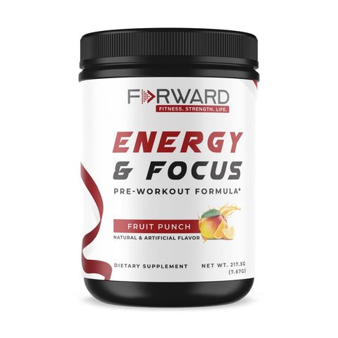 Energy & Focus Pre-Workout (Fruit Punch)